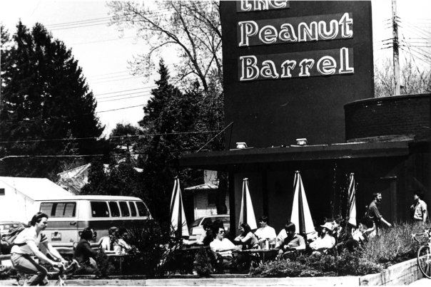 The Peanut Barrel in 1973