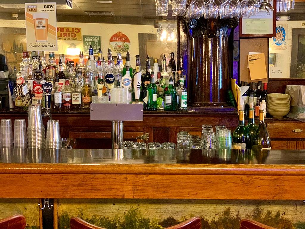 The bar table